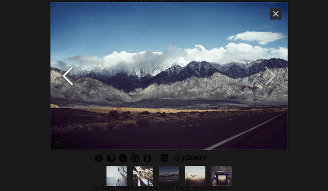 Fresco – Responsive jQuery Lightbox Zoom Plugin