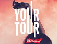Promoção Your Tour Budweiser