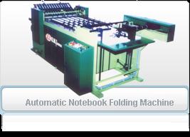 Automatic Notebook Folding Machine