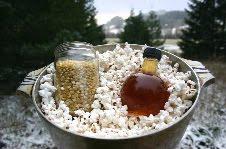 Sesame Popcorn