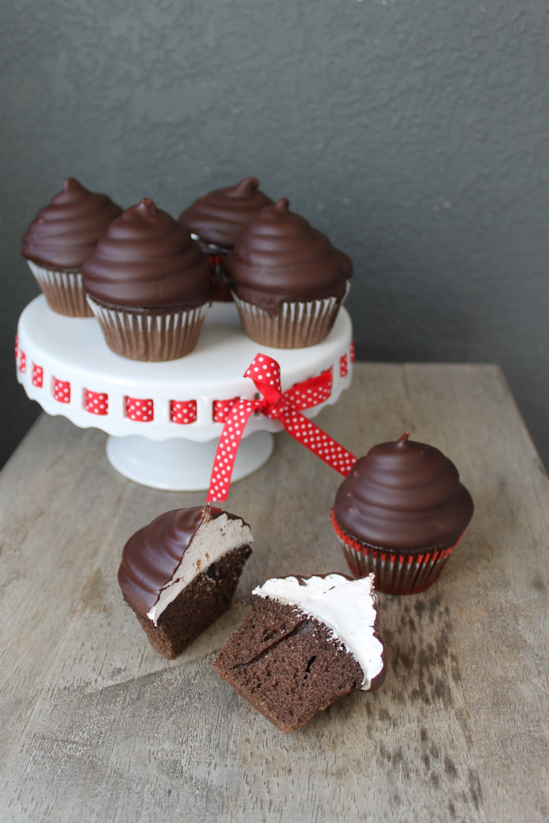 Hi-Hat Cupcakes, from the book Cupcakes! and Martha Stewart Show, May ...
