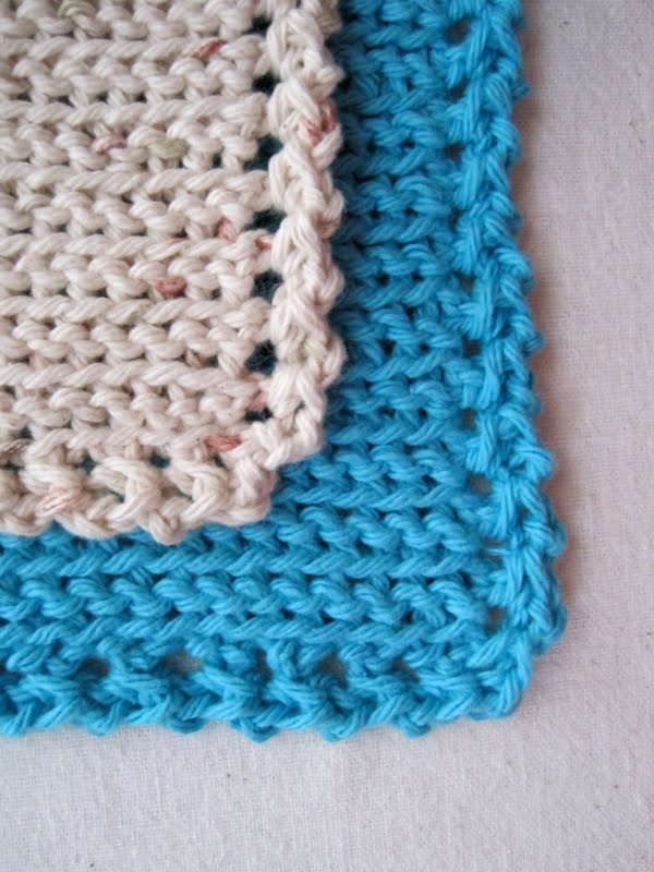 Crochet Stitches Dishcloths : ... Dishcloth Free Pattern & Tutorial - an Easy Intro to Slip Stitch