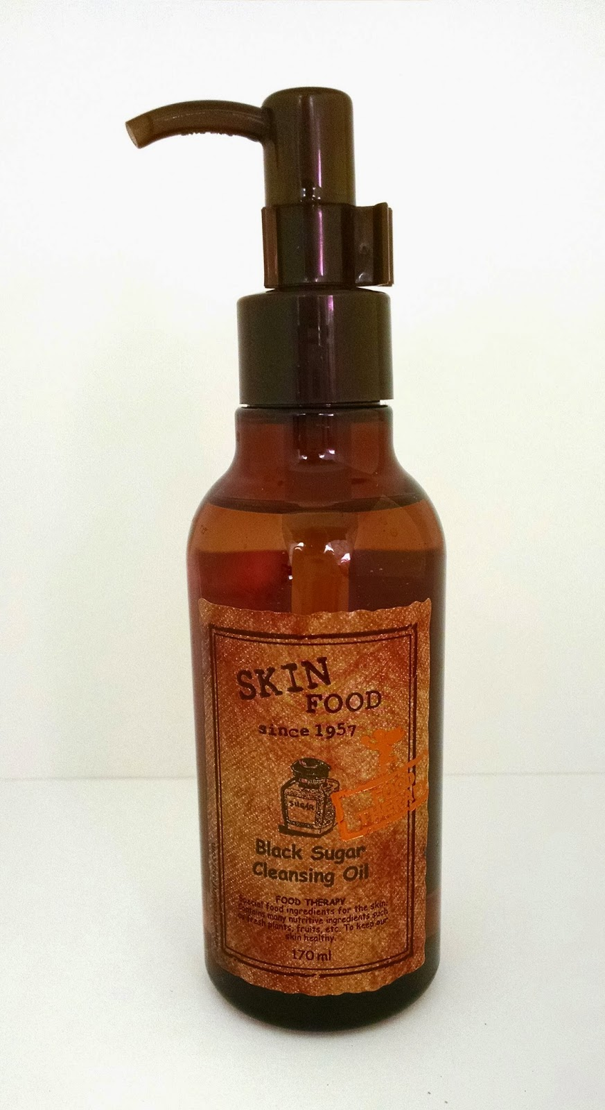 SKINFOOD BLACK SUGAR CLEANSING OIL - The Beauty Wolf