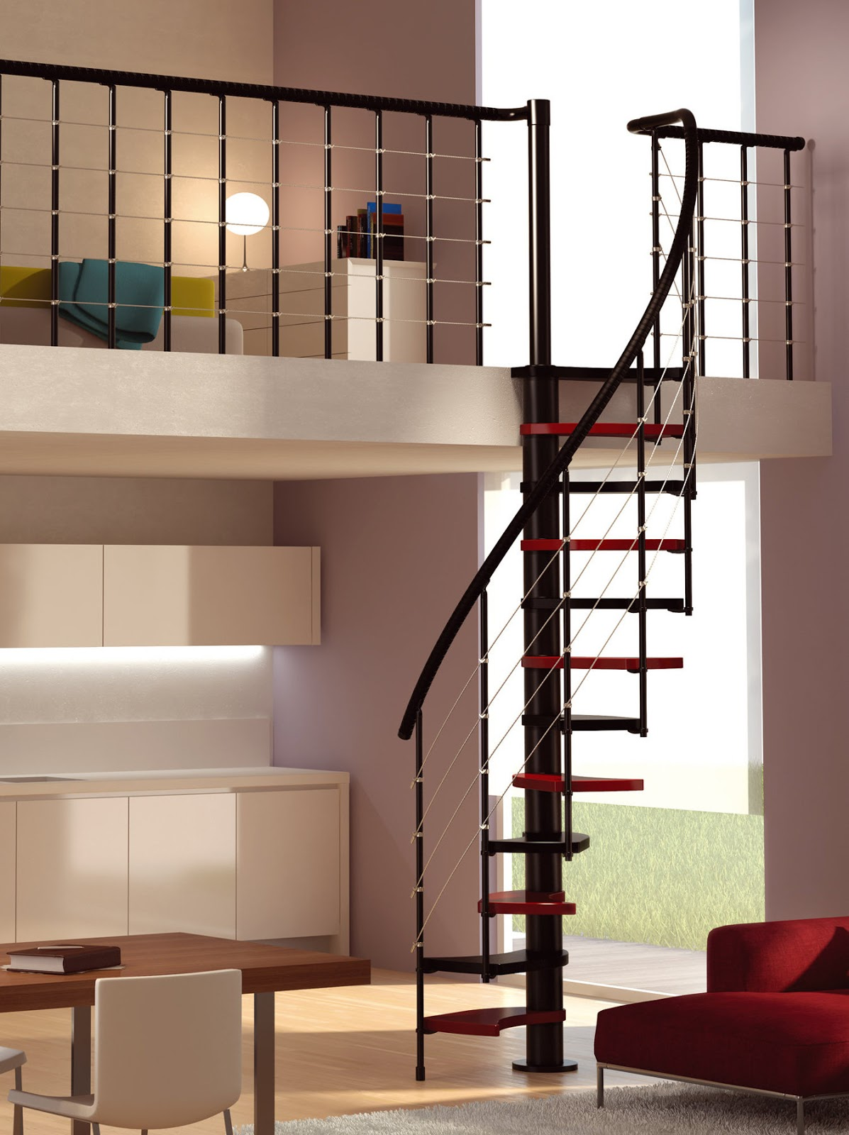 Small Spiral Staircase Design