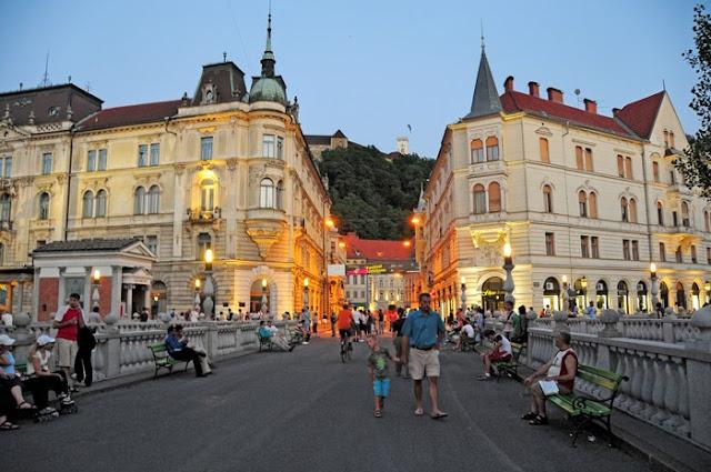 Liubliana en Eslovenia