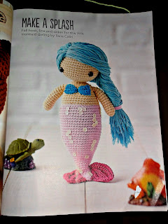 "Crochet pattern mermaid, ""Simply Crochet"" issue 32"