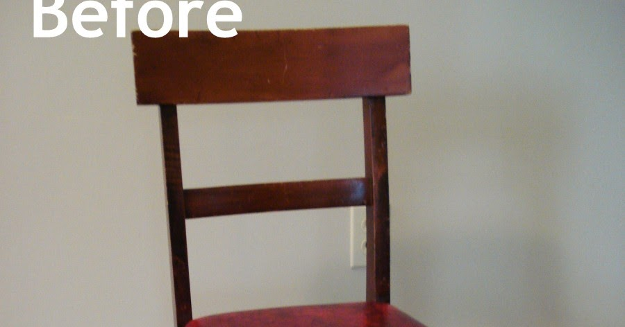 Heart Maine Home A Little Chair Makeover Before And After