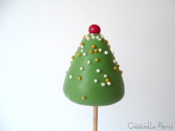 cake pops sapin / christmas tree cake pops