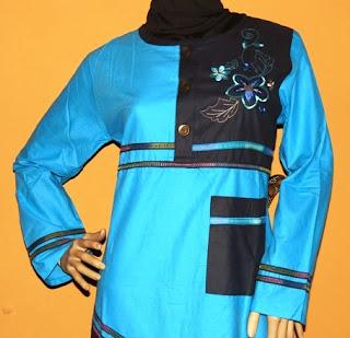 Grosir baju muslim bahan katun