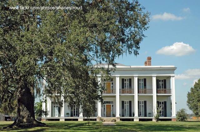 Mansión sureña estilo Antebellum - Ducros Plantation