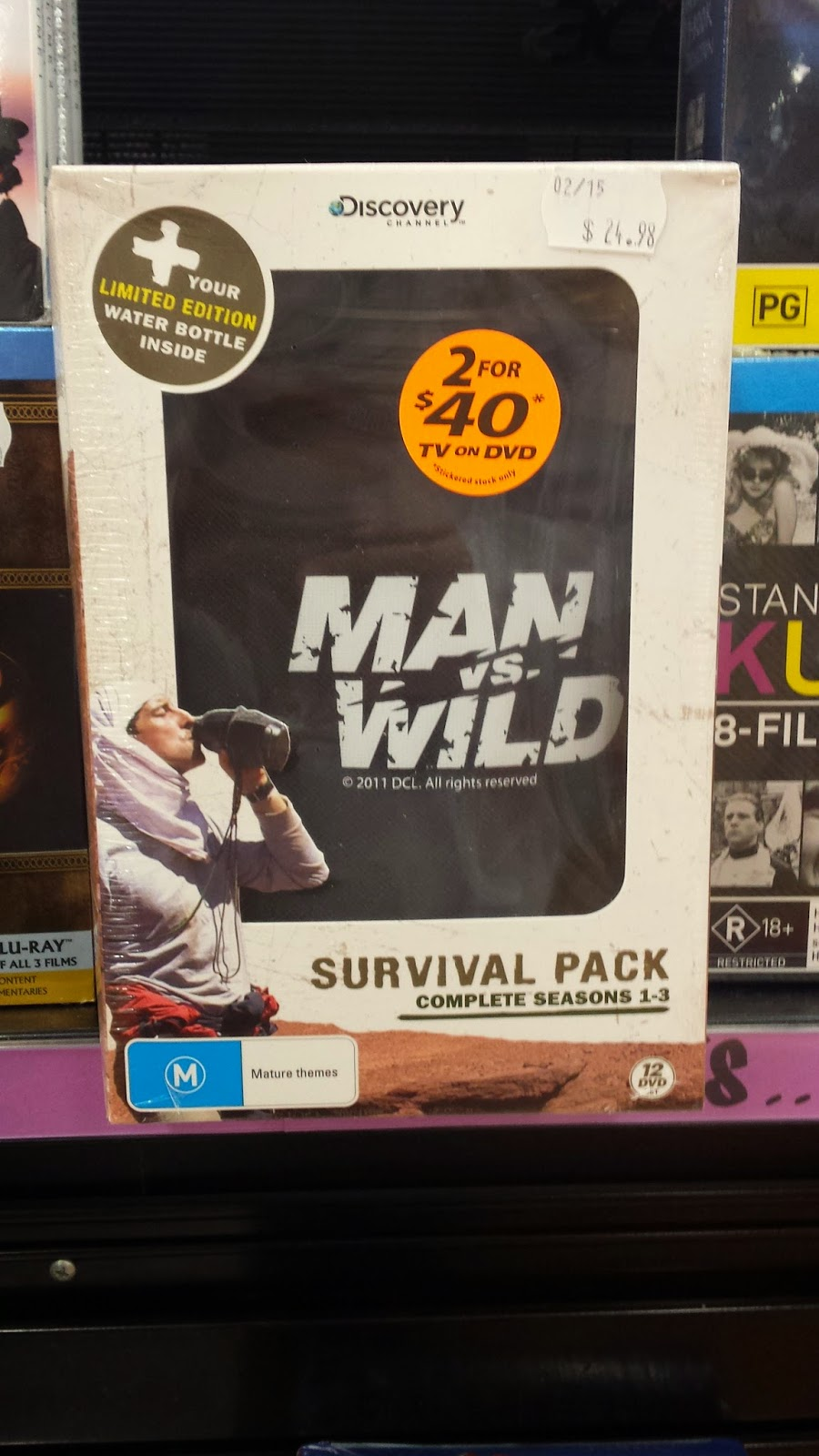 Man vs Wild Survival Pack
