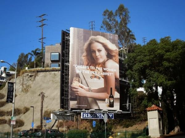 Baileys Cheers to women of red carpet billboard