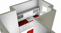 Kitchen plan. Diseño de cocina. Kitchen design.