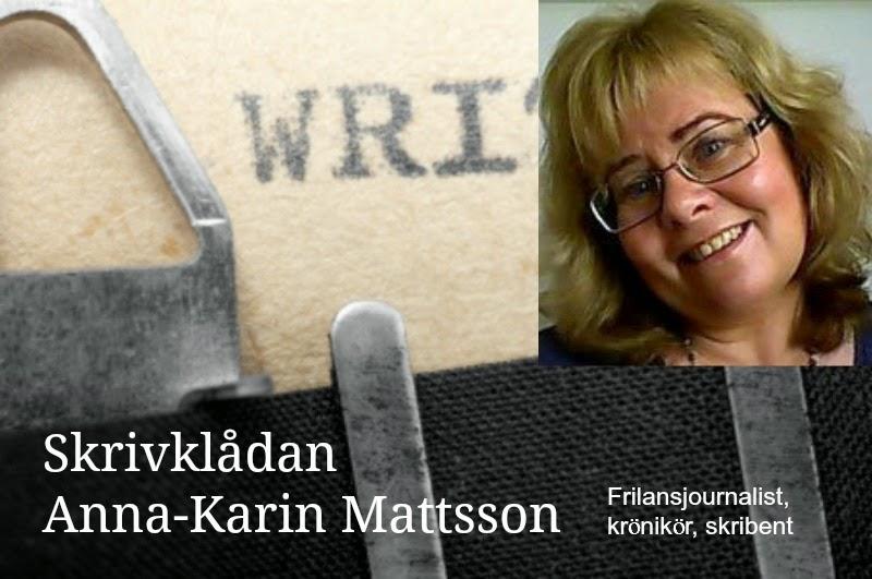 Skrivklådan Anna-Karin Mattsson