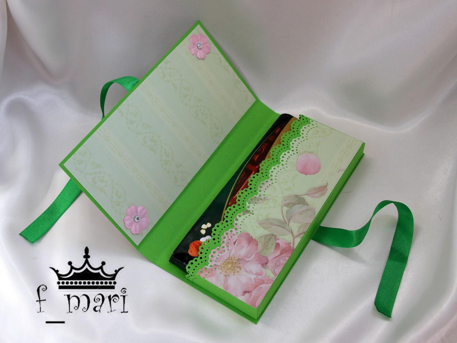 Шоко конвертики шоколадницы и конвертики для денежных подарков два в одном