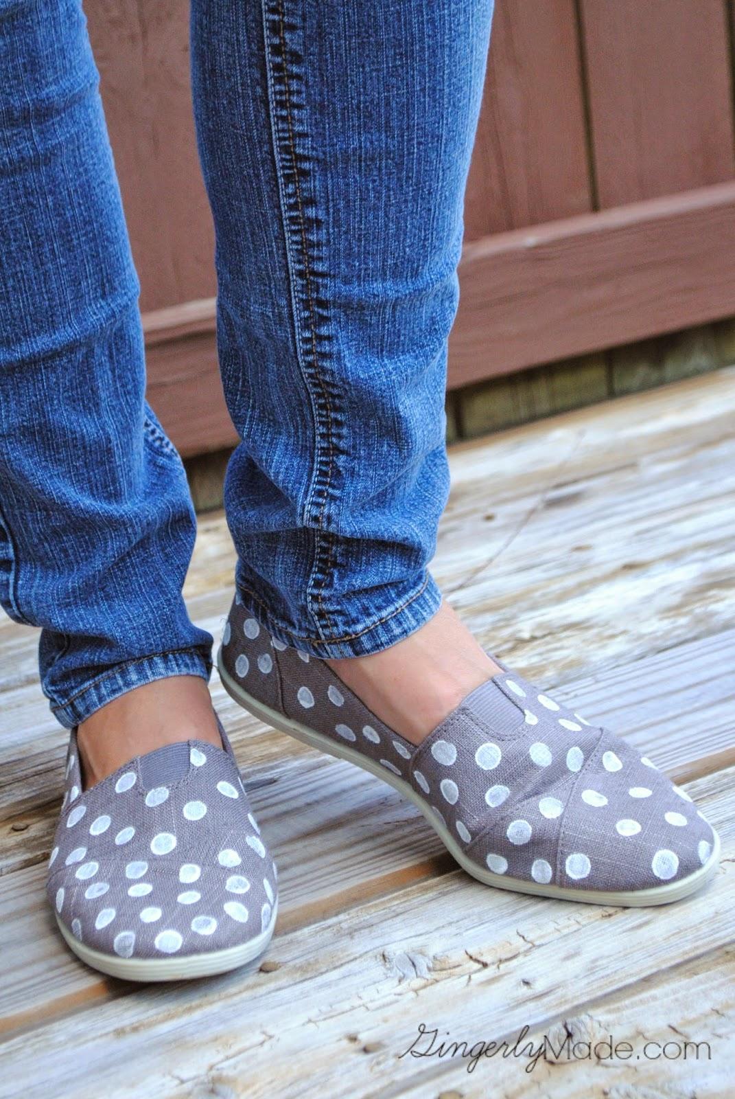 craft DIY paint shoes
