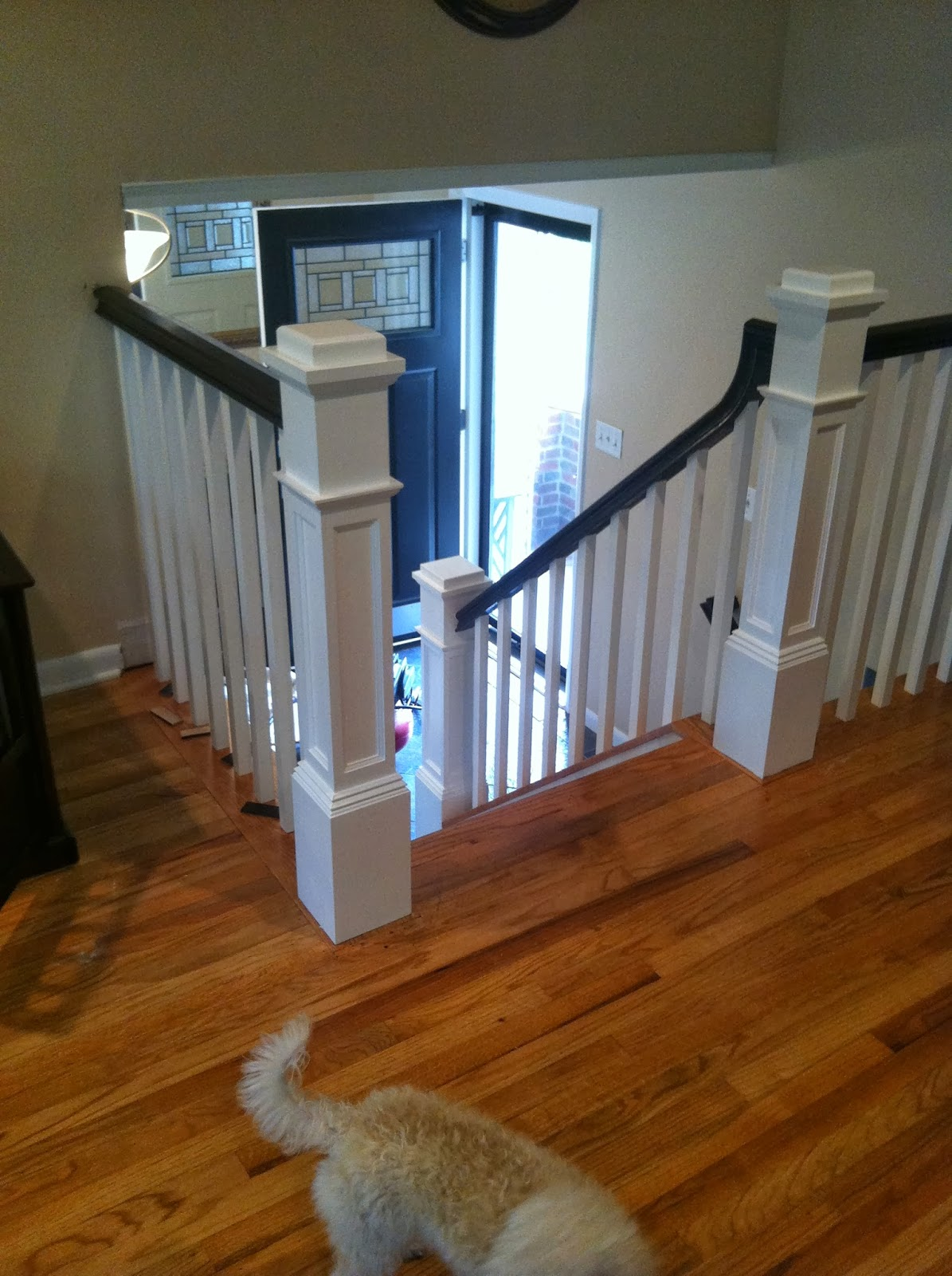 New Box Newels And Handrail In Turnersville NJ