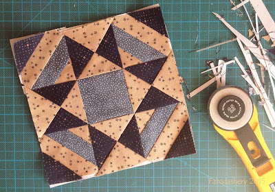 Miniature Block of the Month September 2015 - The Quilt Room