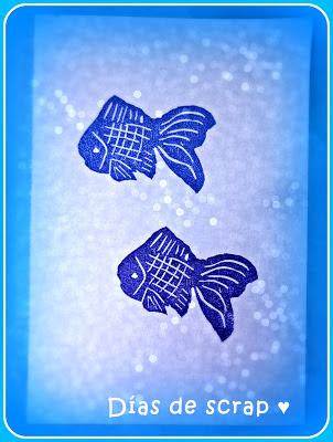 scrap sellos handmade peces