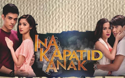 Ina Anak Kapatid Main cast - Kim Chiu and Xian Lim, Maja Salvador and Enchong Dee