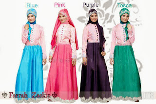 Farrah Zaskia Maxi Dress + Pashmina