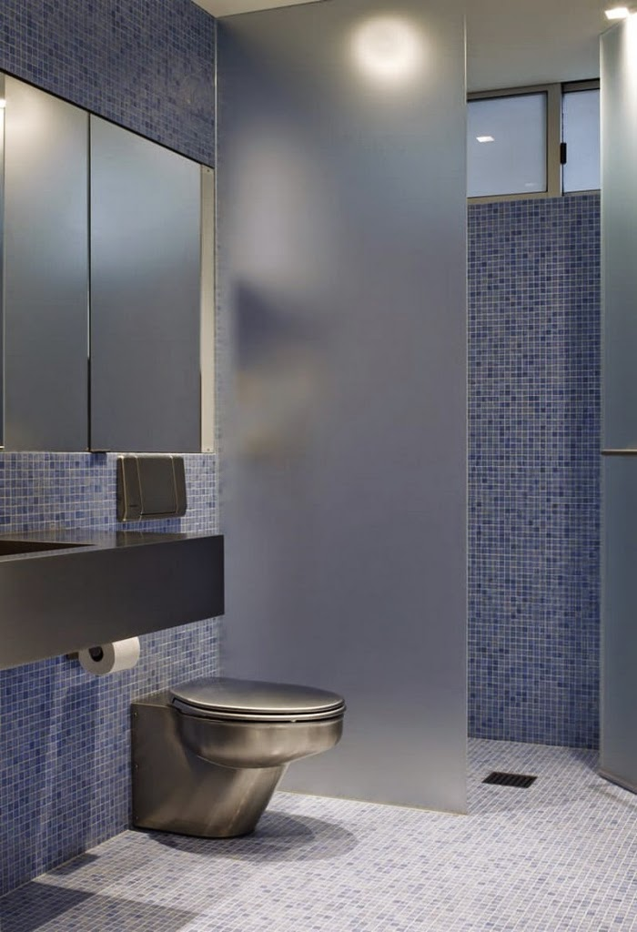 Bathroom Partitions Ideas bathroom design ideas for how to give privacy for the toilet area