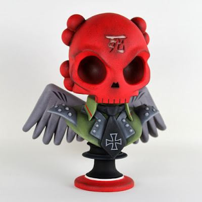 "Huck Gee x Scott Tolleson The Crimson Skullhead 6"" Resin Bust"