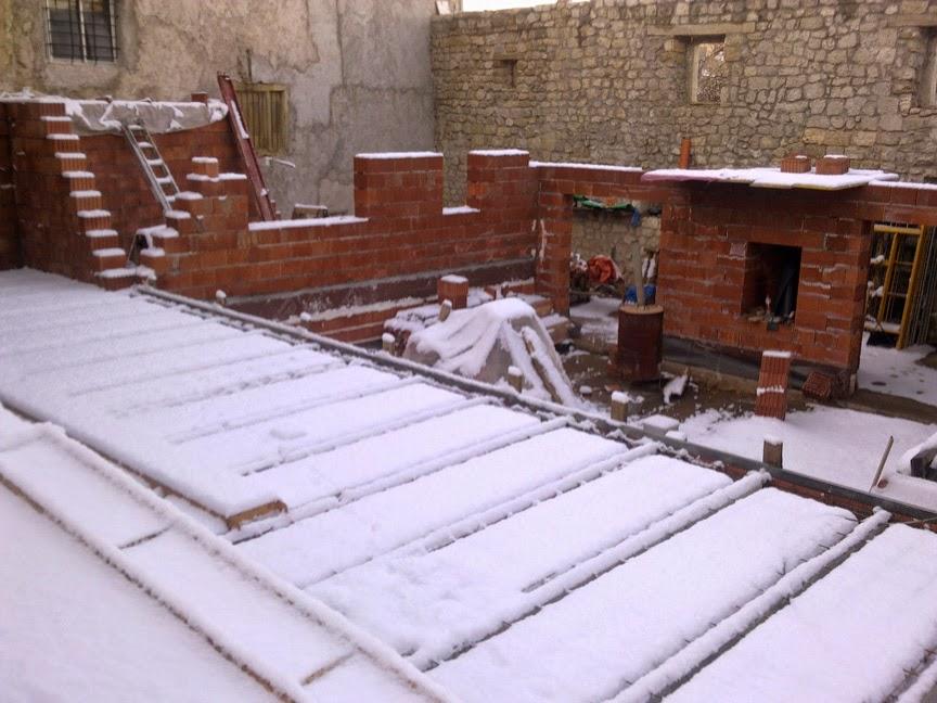 Casa de nueva planta con fachada del s xviii goitorre - Fachada hormigon in situ ...