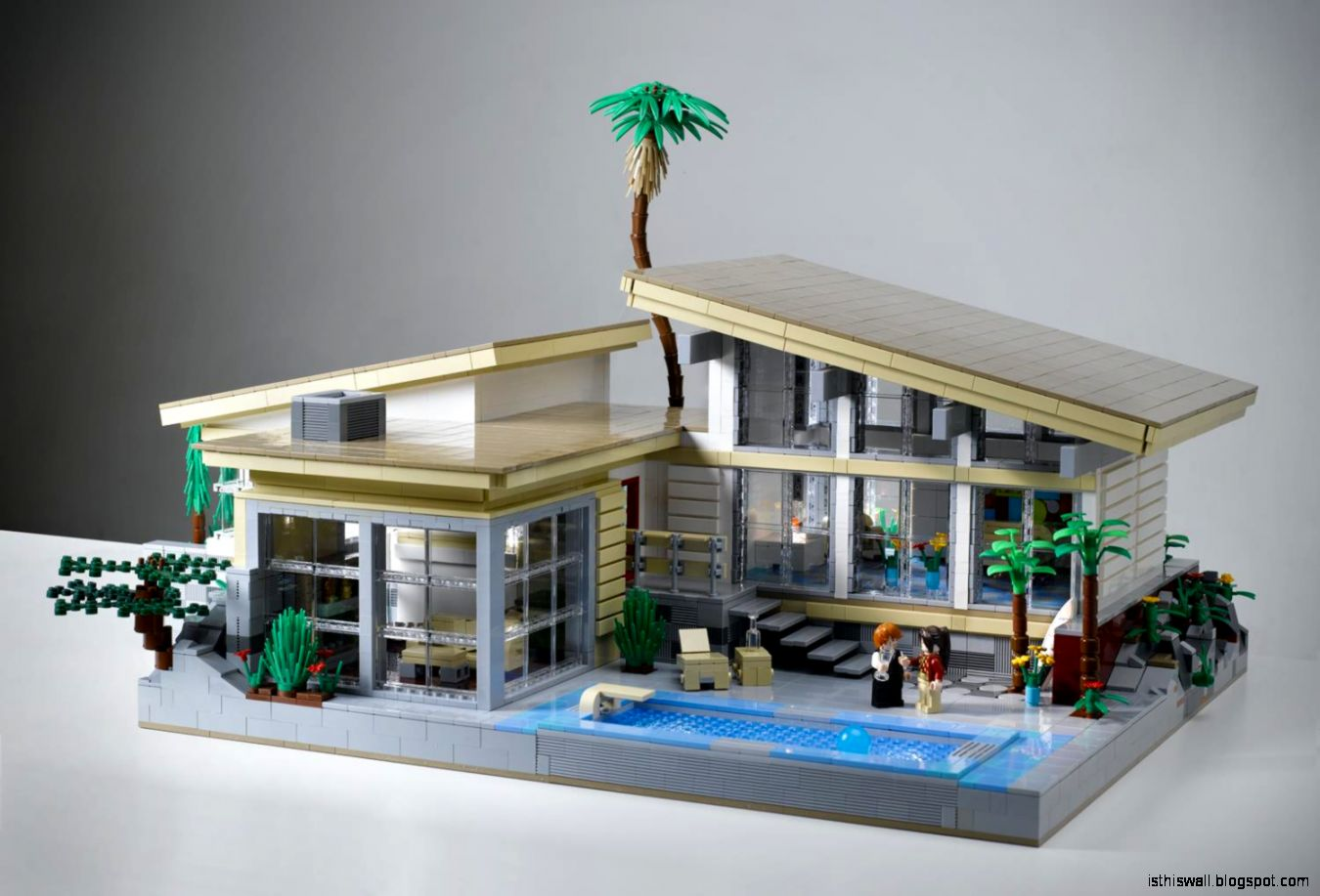 Lego home design this wallpapers for Modern house design blog