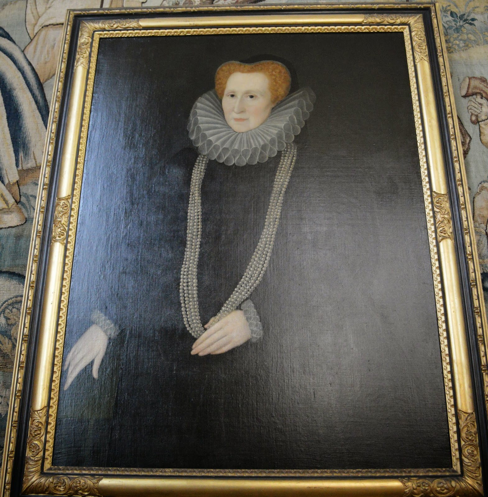 Hardwick Hall, inside, historical properties, interior, National Trust, visit, Derbyshire, Bess, Talbot, Elizabeth Shrewsbury, floor rushes, portrait, bed chamber, kitchens,