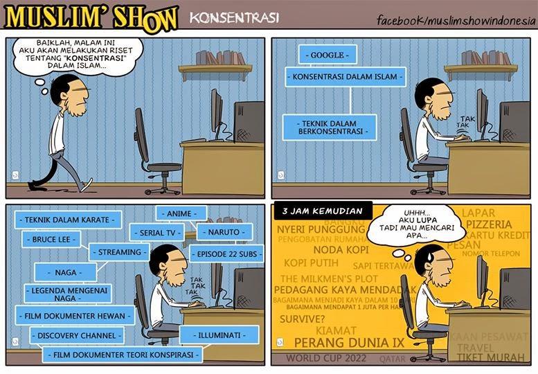 Komik Strip Muslim Show 1