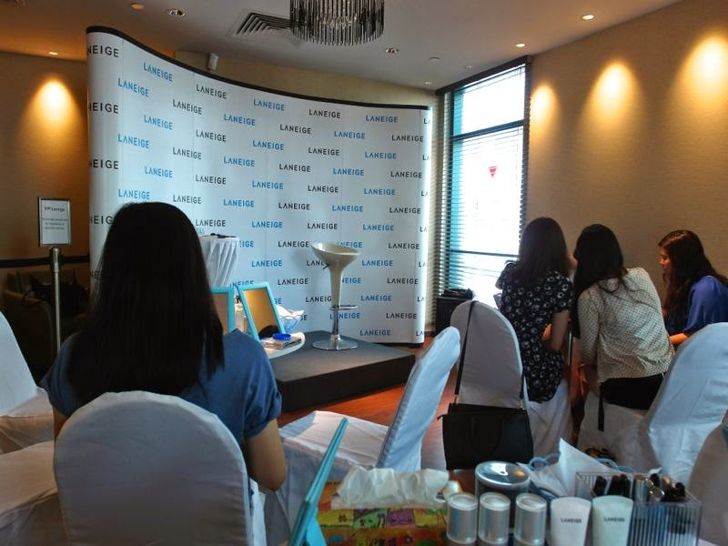 Laneige Brighten Up Workshop experience review lunarrive singapore skincare