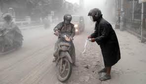 debu vulkanik bahayakan kesehatan