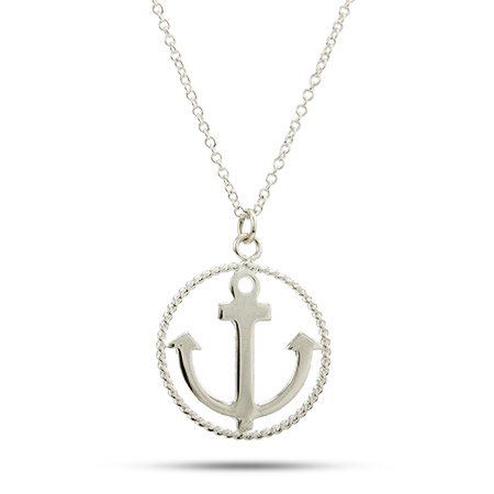Tiffany Anchor Necklace6