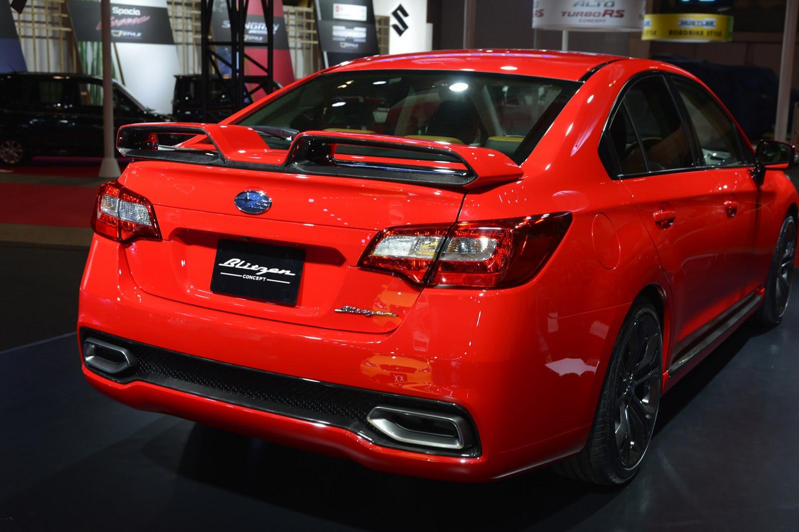 2018 subaru legacy gt. Interesting 2018 Wrx Hatchback Wing  Subaru Warms Up Legacy B4 Blitzen Concept For  Tokyo Auto Salon  Intended 2018 Subaru Legacy Gt