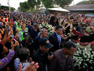 Pernikahan GKR Hayu, Jalan di sekitar keraton ditutup selama dua hari