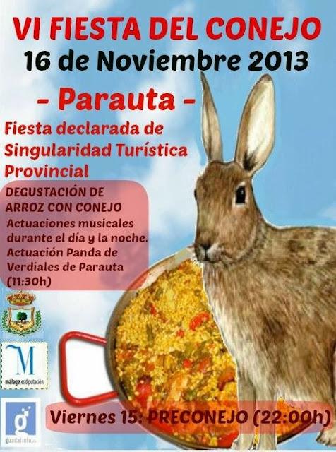 VI Fiesta del Conejo. Parauta