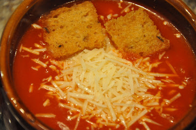 photo of homemade tomato soup