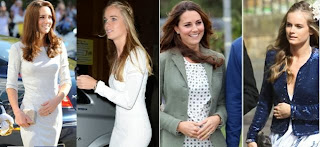 Cressida Hopes and Kate Middleton