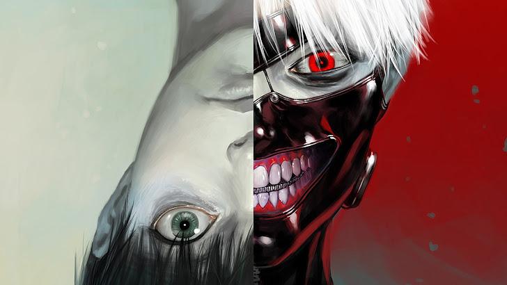 Ken Kaneki Tokyo Ghoul Anime