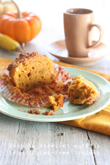 light and tender pumpkin muffins - gluten-free