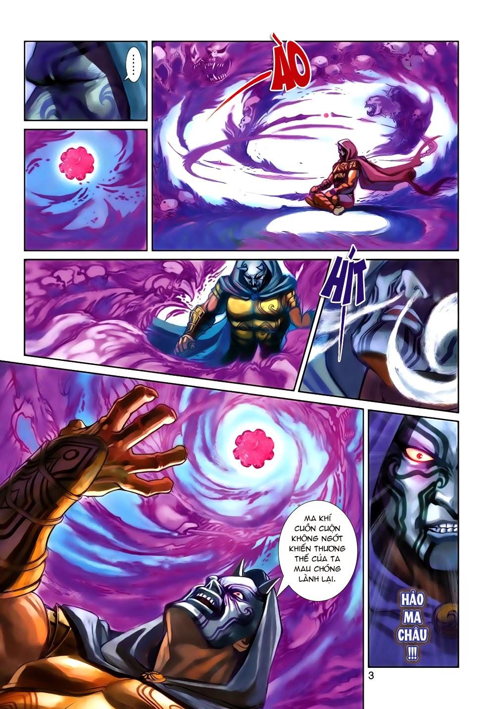 Thần Binh Tiền Truyện 4 - Huyền Thiên Tà Đế chap 5 - Trang 3