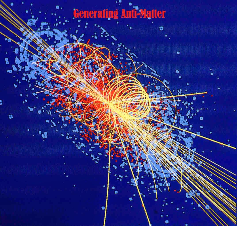 Antimatter production