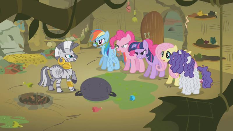 My Little Pony Fim Season 1 Ep 9 Bridle Gossip My