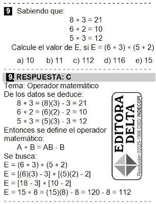 EXAMEN CANTUTA 2012 - EDITORA DELTA