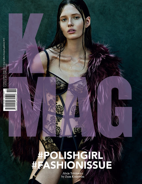 Model @ Alicja Tubilewicz by Zuza Krajewska for K MAG Poland No.78