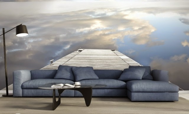 Living Room With Sky Photos Wallpapers