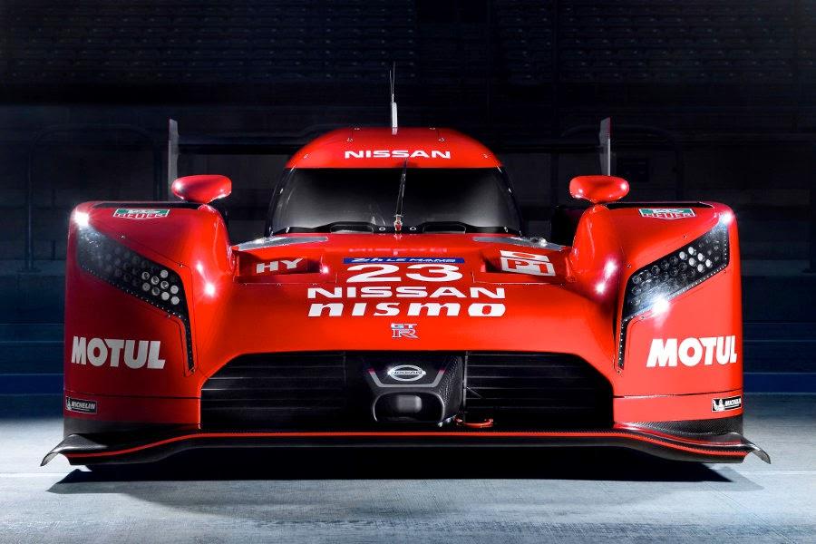 Nissan GT-R LM Nismo LMP1 2015 Front