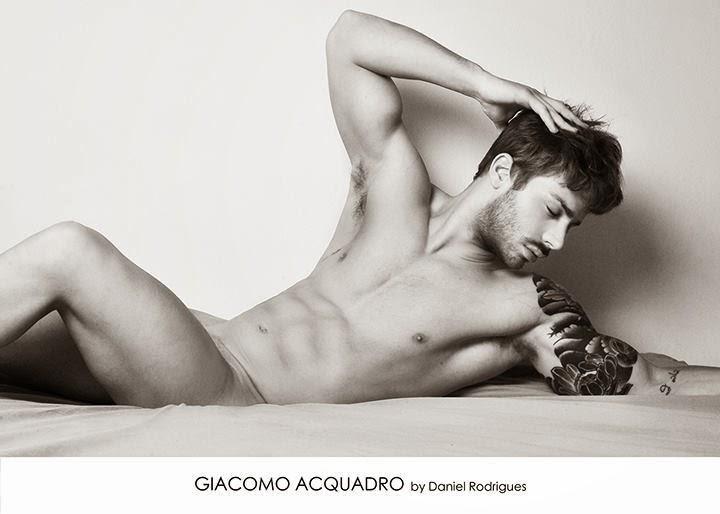 Giacomo Acquadro nudo
