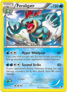 Feraligatr Phantom Forces Pokemon Card